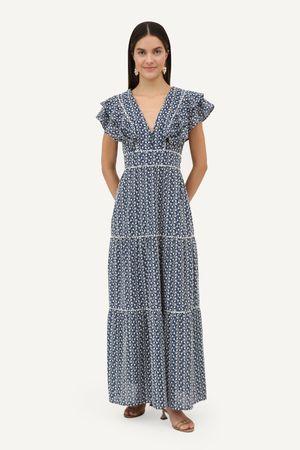 Vestido Ester Azul Escuro -