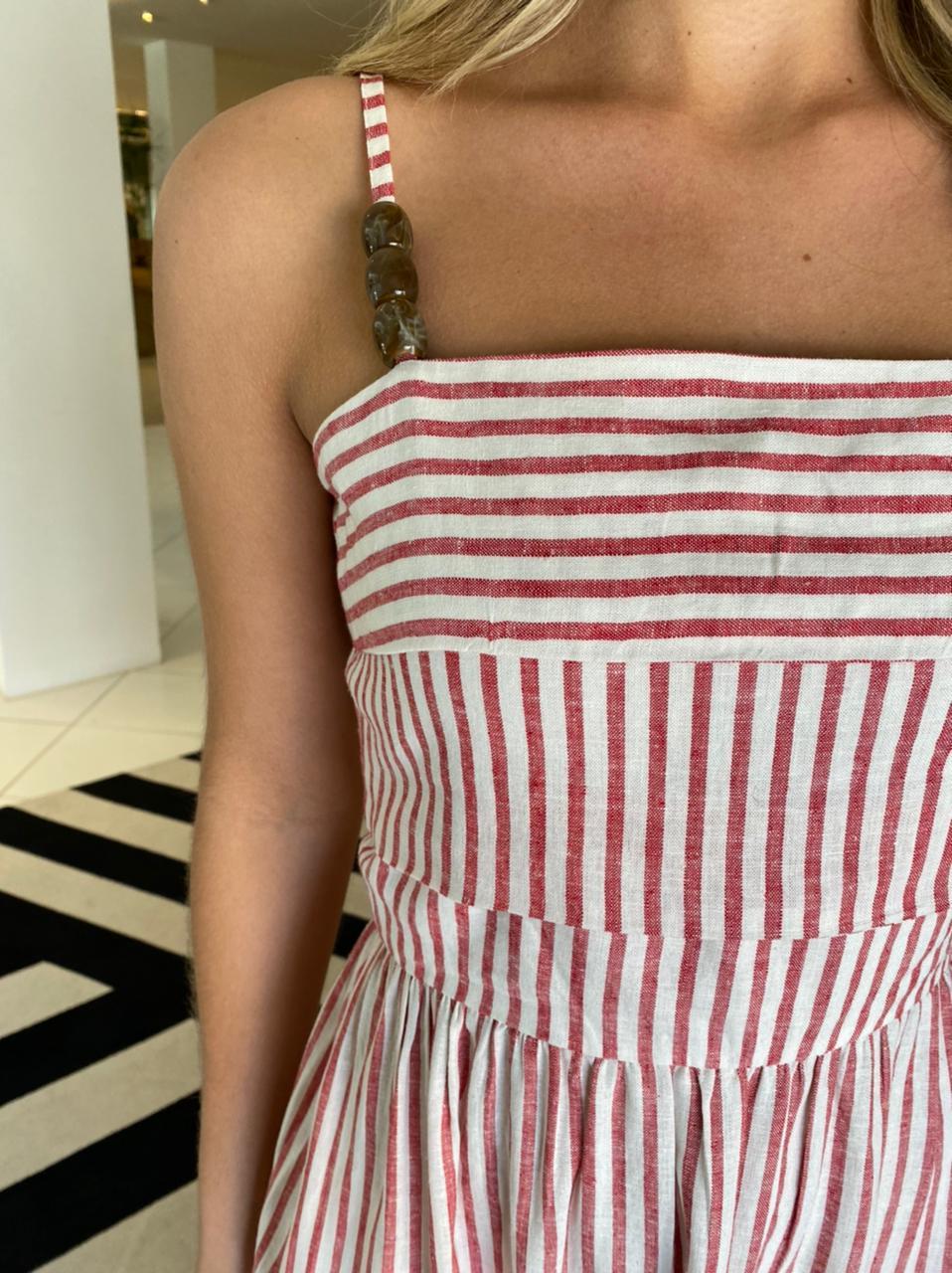 Vestido Fenix Off/ Vermelho -
