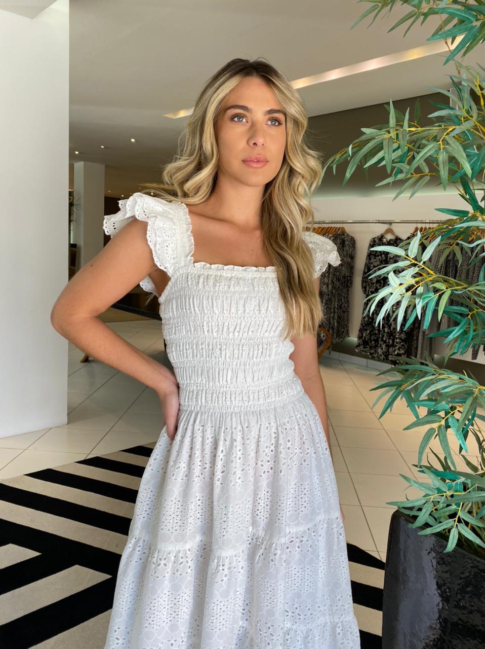 Vestido Firenze Off White -