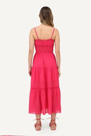 Vestido flora Pink -