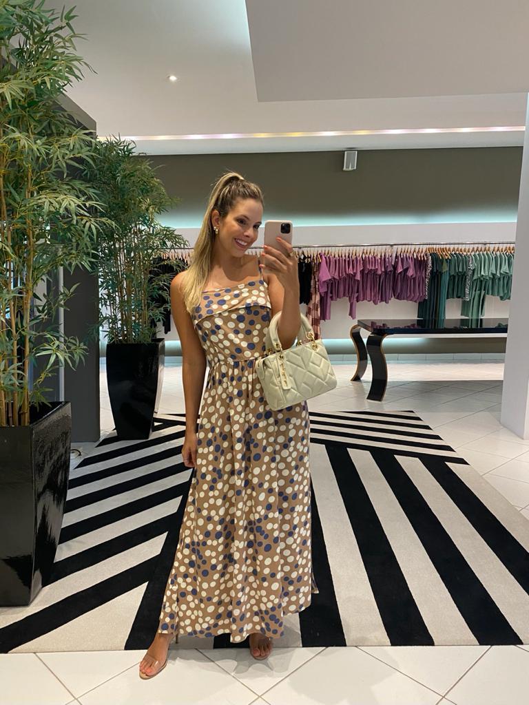 Vestido Isabeli Amendoa -