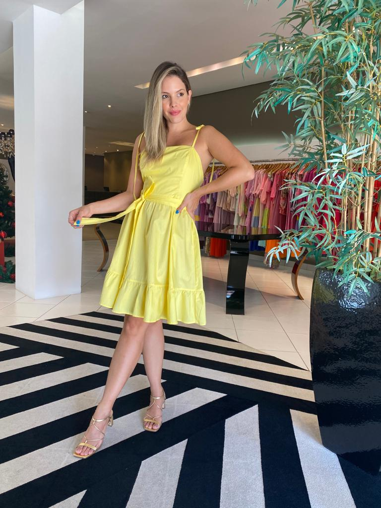 Vestido joana Amarelo -