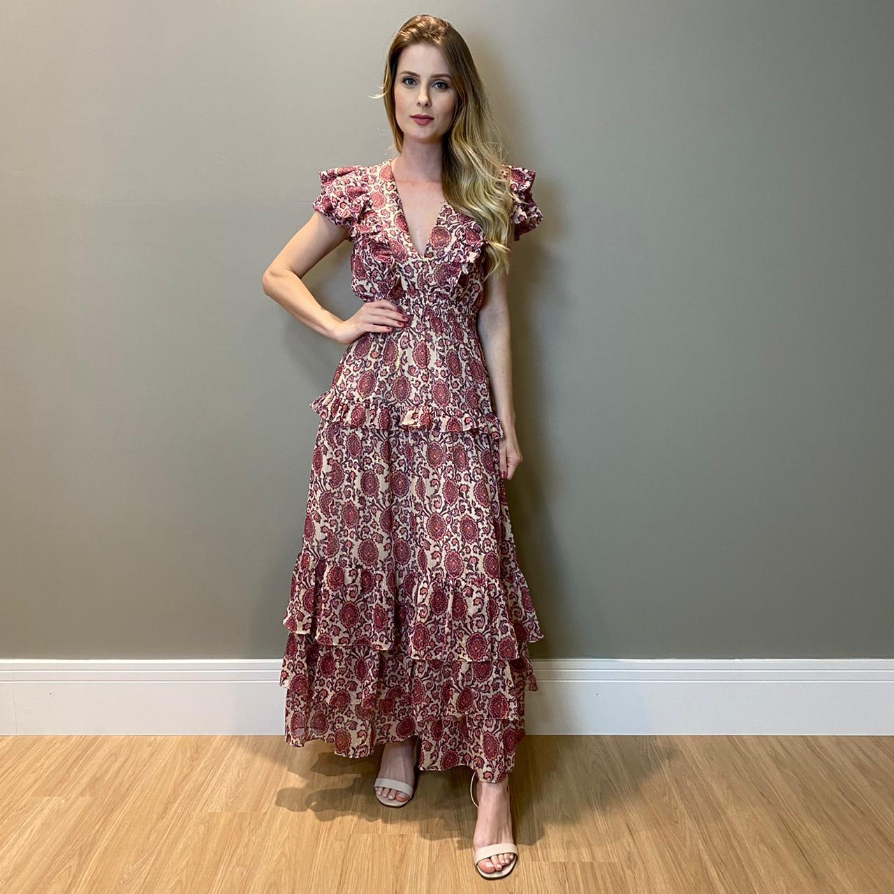 Vestido Julia Roxo -