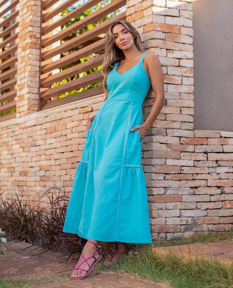 Vestido juliette Azul -