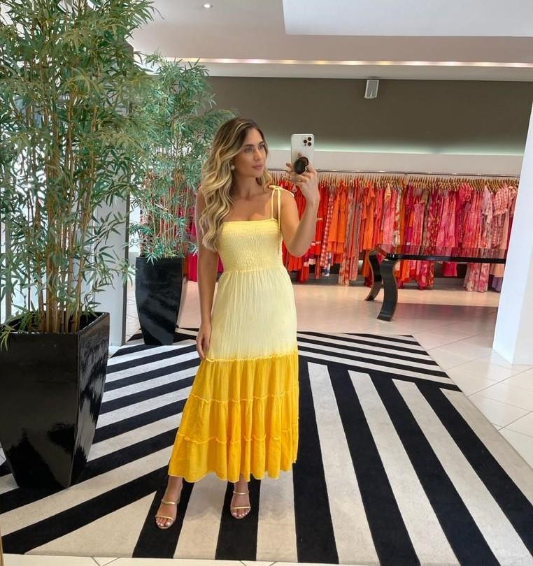 Vestido kelly Amarelo -