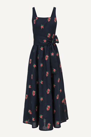 Vestido Liana Azul marinho -