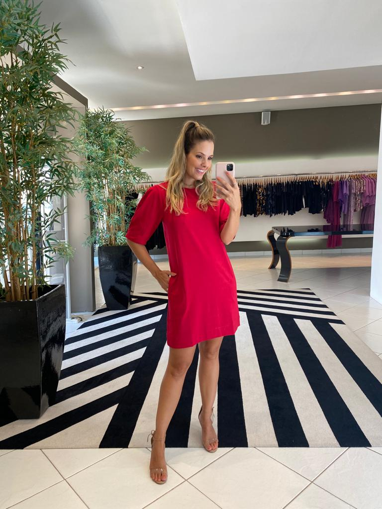 Vestido magali Vermelho -