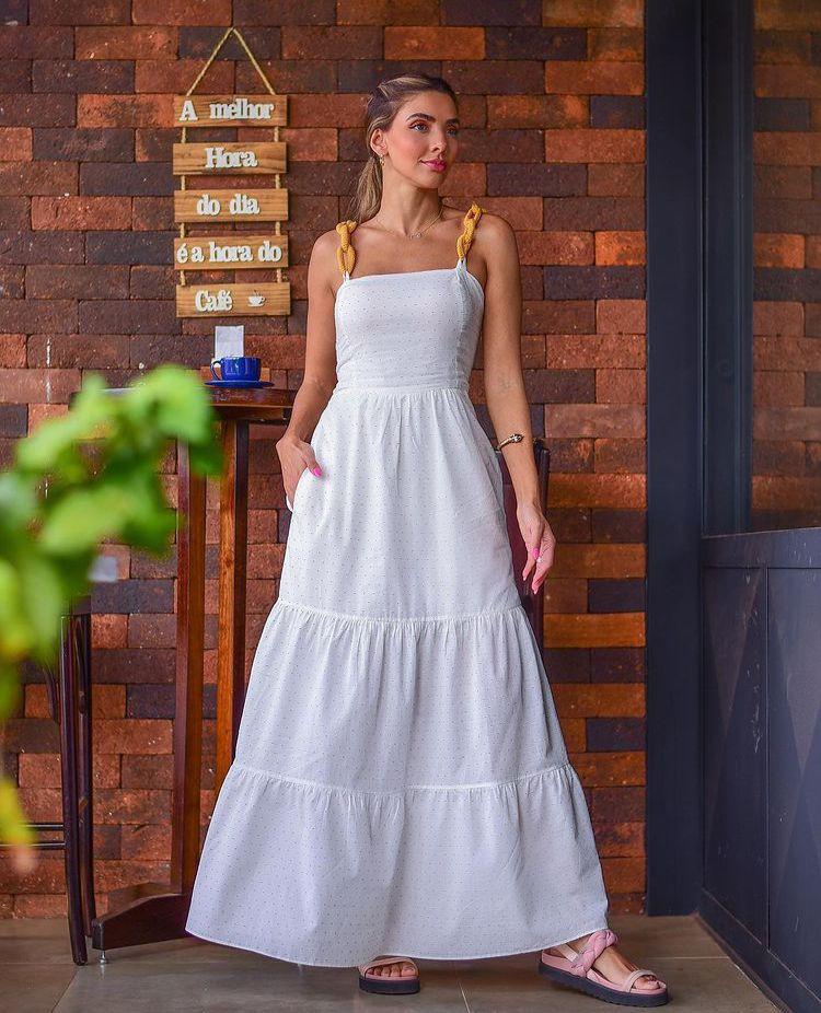 Vestido maraisa 1 Off white -