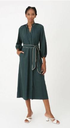 Vestido mirian Verde escuro -