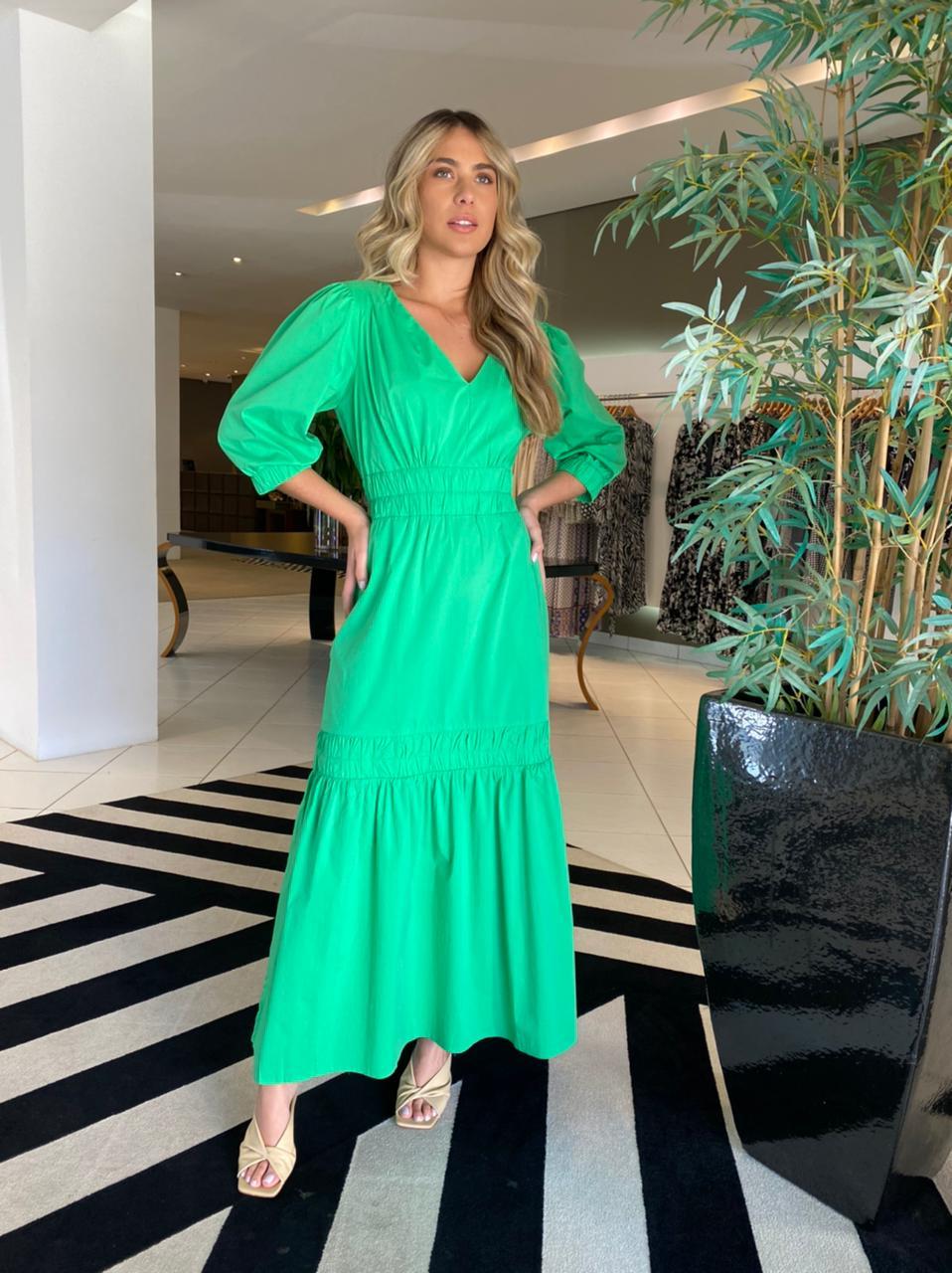 Vestido Patricia Verde -