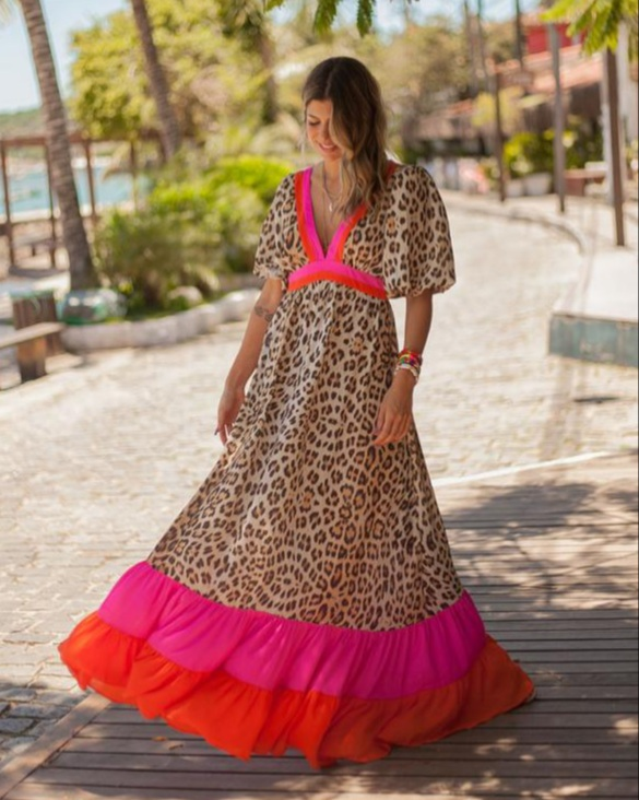 Vestido pop tiger Animal print -