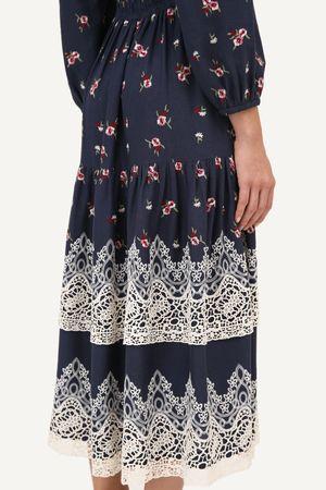 Vestido Seville Azul escuro -