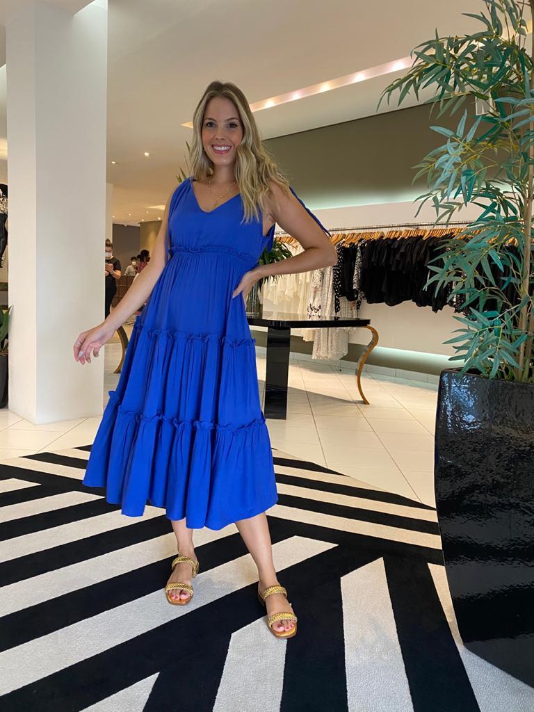 Vestido thais Azul -