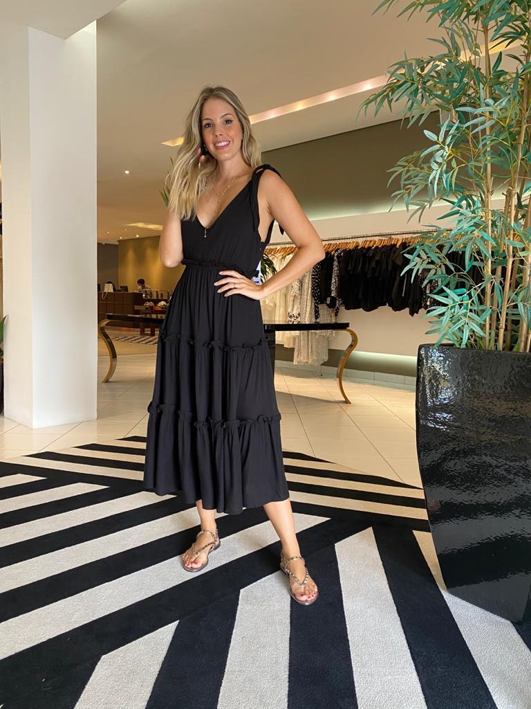 Vestido thais Preto -