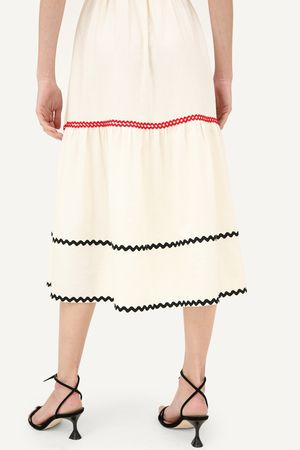 Vestido Zafari Off white -