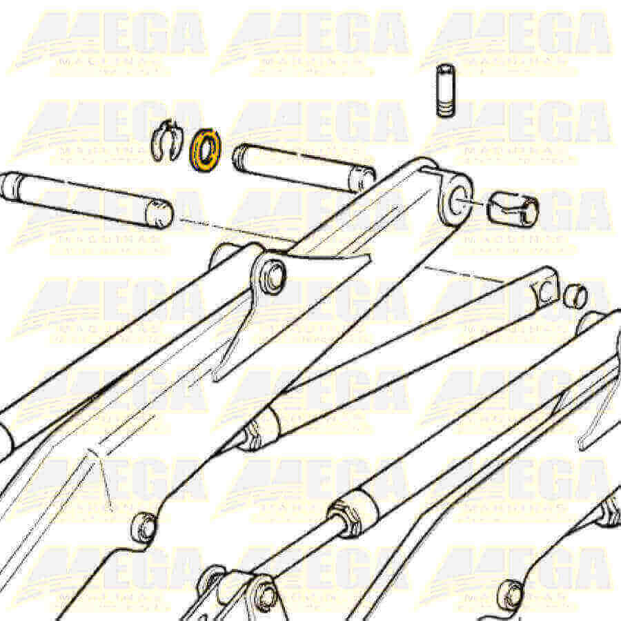 Calço 6mm - 819/00144 81900144