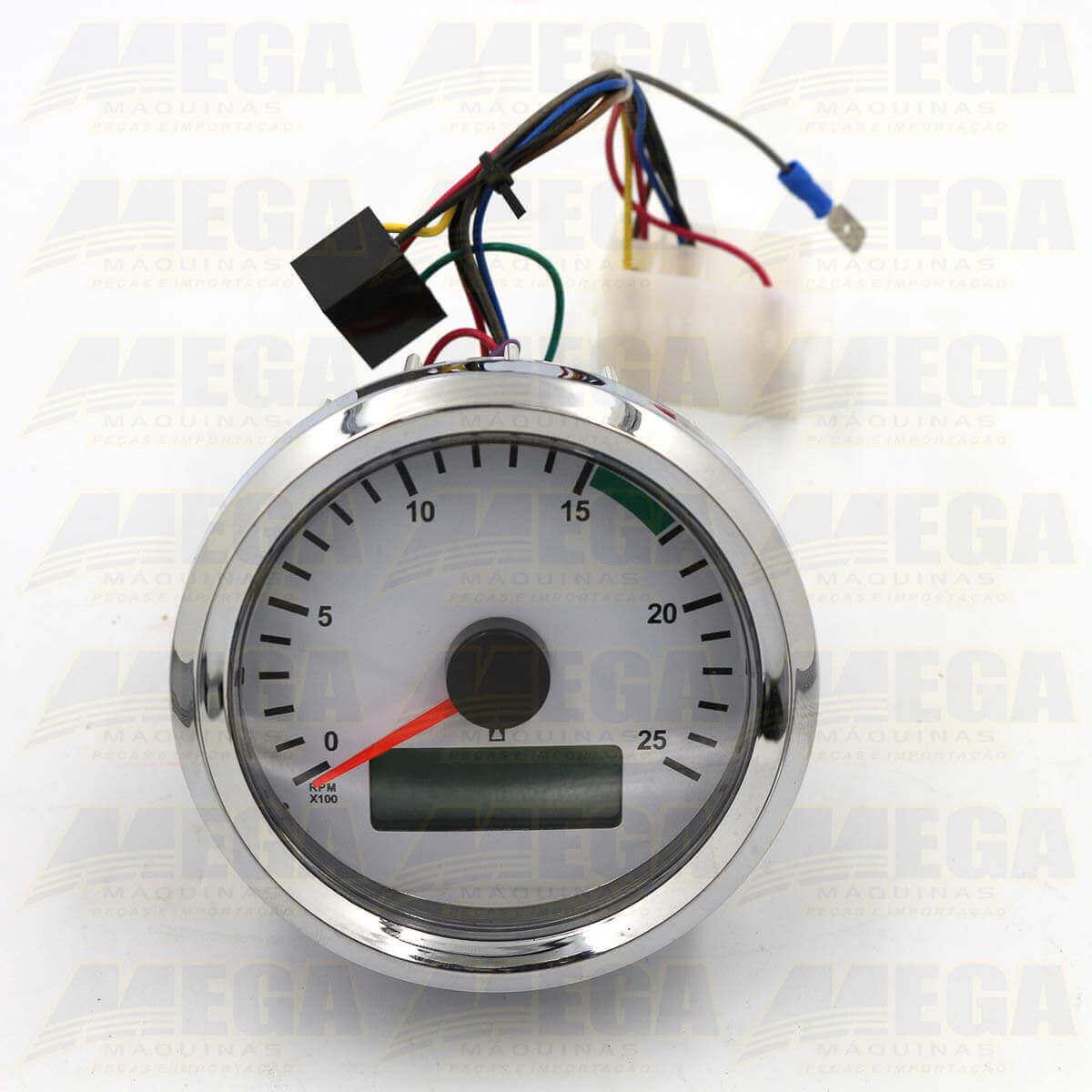 Horímetro Digital com Conta Giros 704/50227 70450227