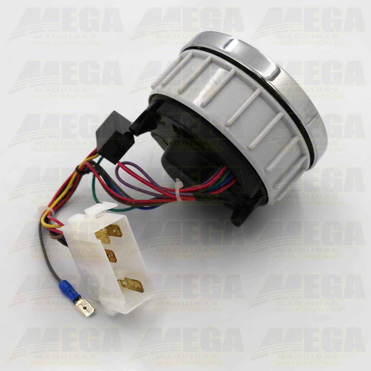 Horímetro Digital com Conta Giros (Tacômetro)