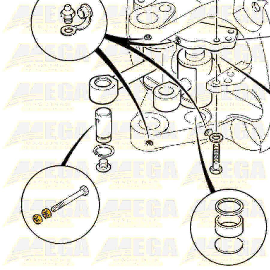 Porca M12 1370/0402Z 13700402Z