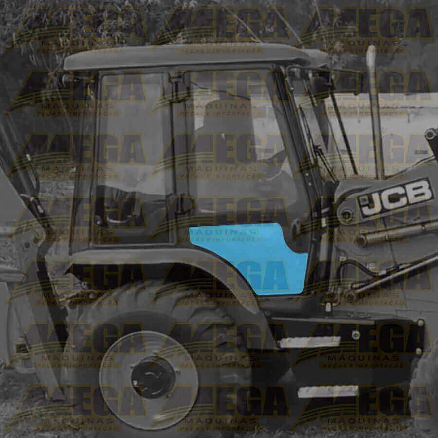 Vidro Porta Direita Inferior Retroescavadeira JCB 3CX 334/Y0834 334Y0834