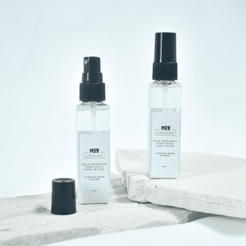 Água Artesanal Perfumada Para Tecido - Aromas Made By You