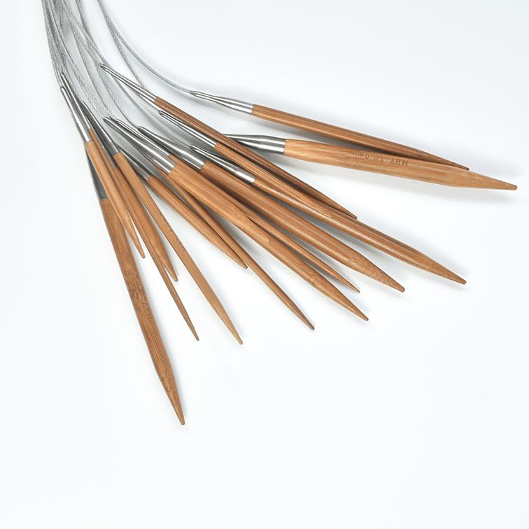 Agulha Para Tricô Circular Bambu Made By You_60cm
