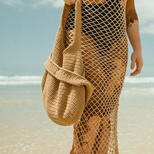 Kit Bolsa de Praia Vegan Made By You