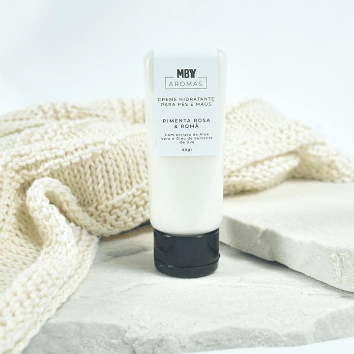 Creme Hidratante Para Pés e Mãos - Aromas Made By You