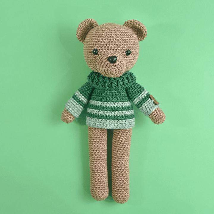 Kit Amigurumi Urso Made By You