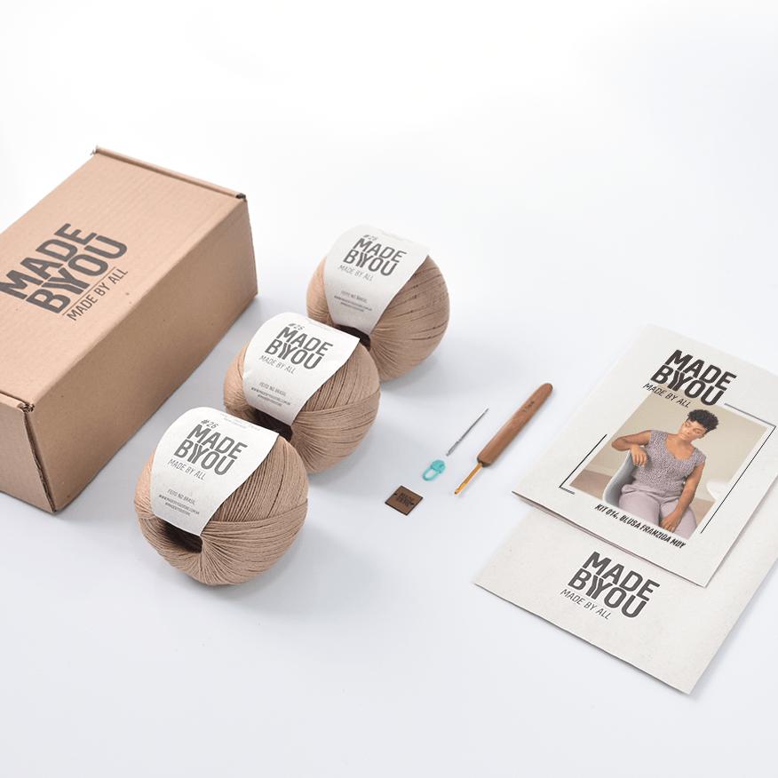 Kit Blusa Franzida Vegan Made by You