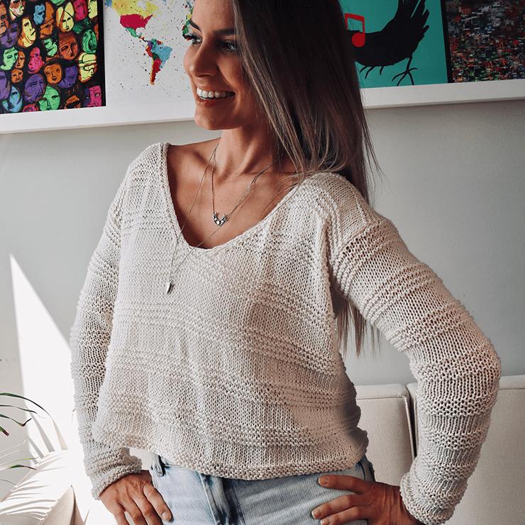 Kit Blusa Vanilla – Woolhool para Made By You