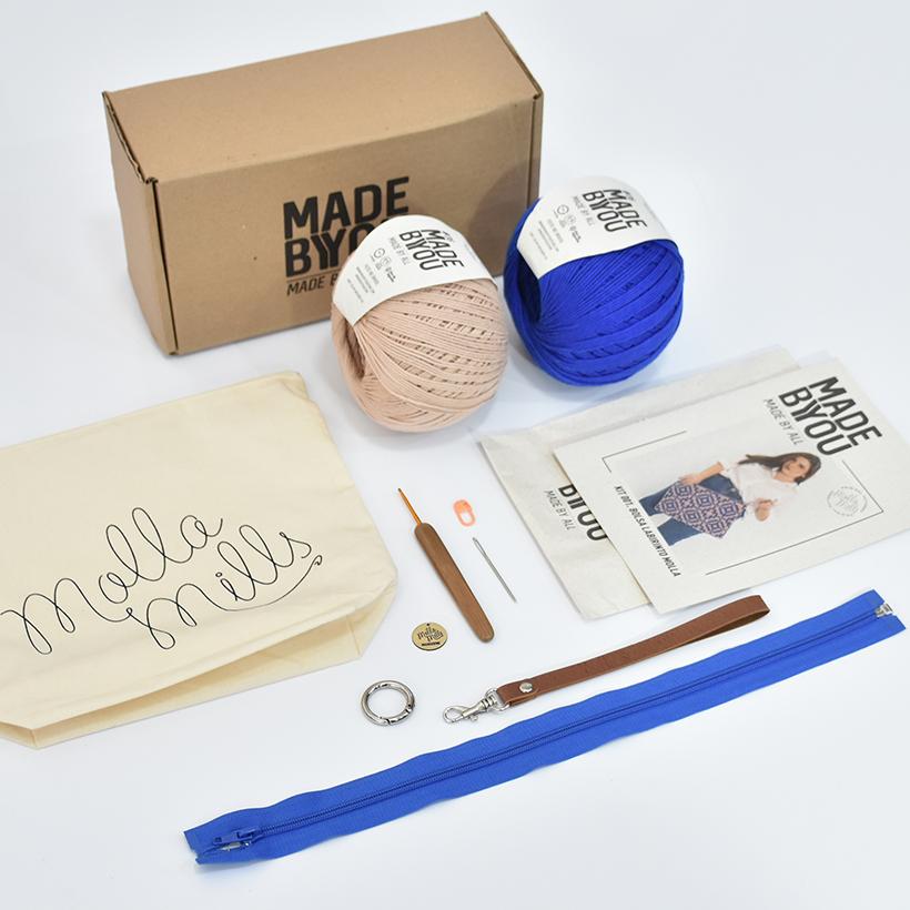 Kit Bolsa Labirinto - Molla Mills para Made By You