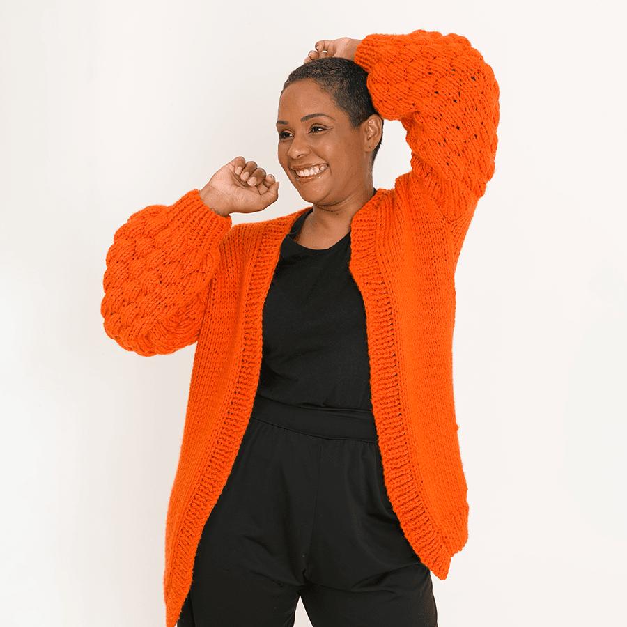 Kit Casaco Amora  Woolhool para Made By You