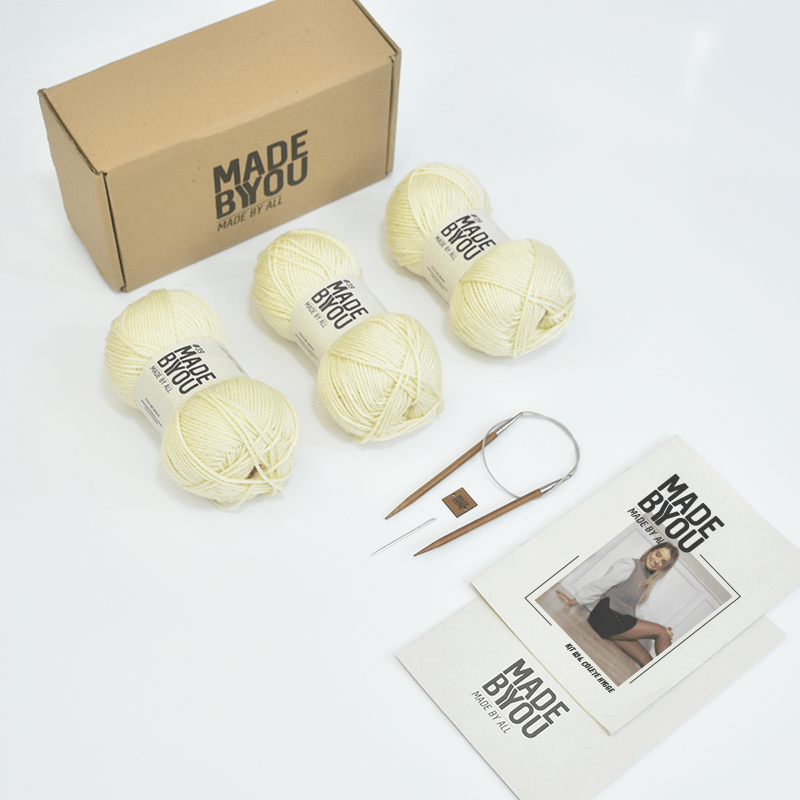 Kit Colete Hygge  Woolhool para Made By You