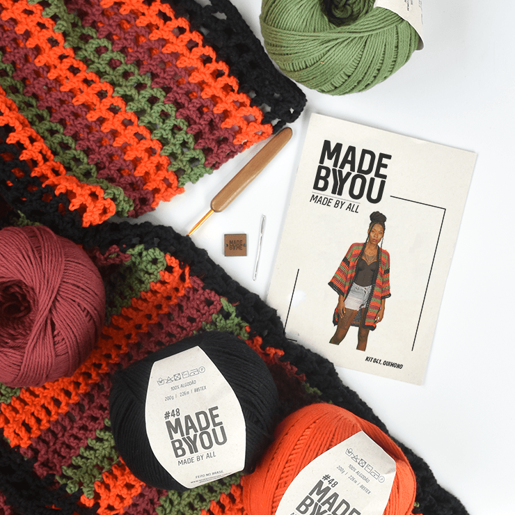 Kit Quimono Lady Brown para Made By You