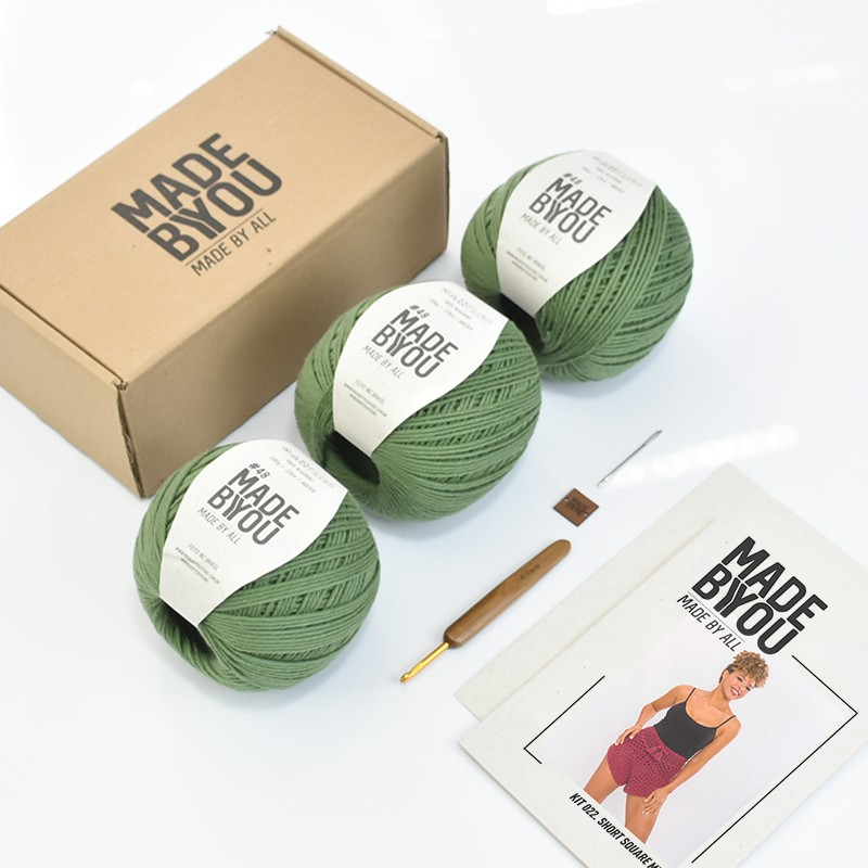 Kit Short Square Vegan Made by You