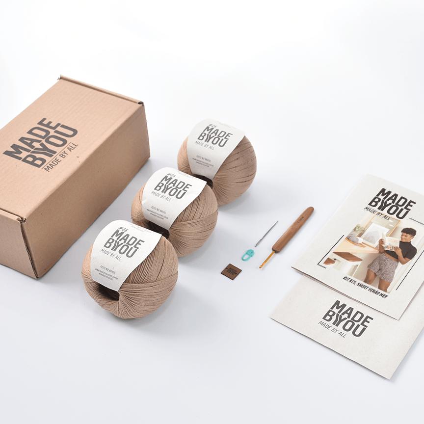 Kit Short Verão Vegan Made by You