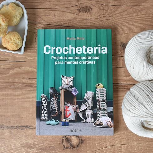 Livro Crocheteria - Molla Mills