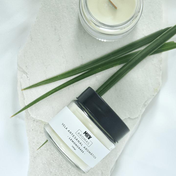 Vela 100% Vegetal Lemongrass - Aromas Made By You