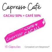 Cápsula CAFÉ 50% + CACAU 50% Capresso 10 Unidades