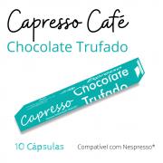 Cápsula Café Capresso Chocolate Trufado 10 Unidades