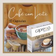 Cápsula Café com Leite 10 Unidades