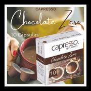 Cápsula Chocolate Zero 10 unidades