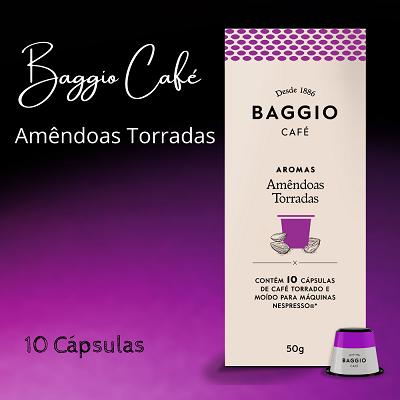 Baggio Aromas Amendoas Torradas - 10 Cápsulas