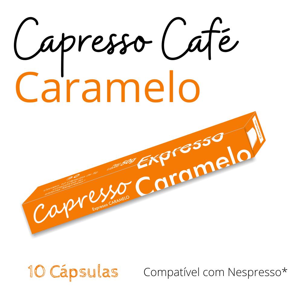 Cápsula Café Capresso Caramelo 10 Unidades