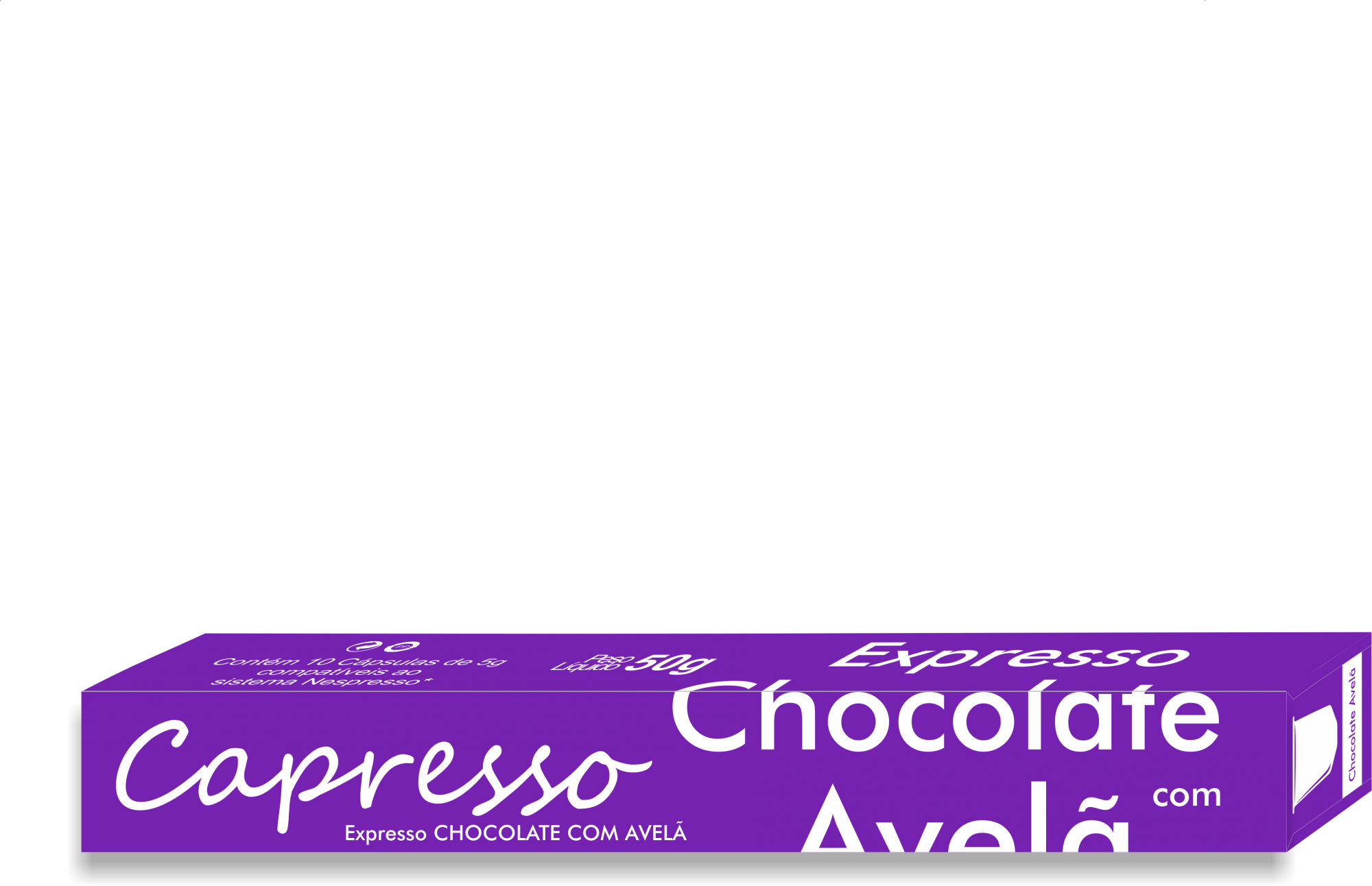 Cápsula Café Capresso Chocolate com Avelã 10 Unidades