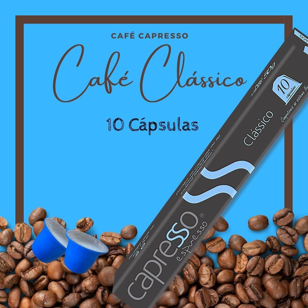 Cápsula Café Capresso Clássico 10 Unidades
