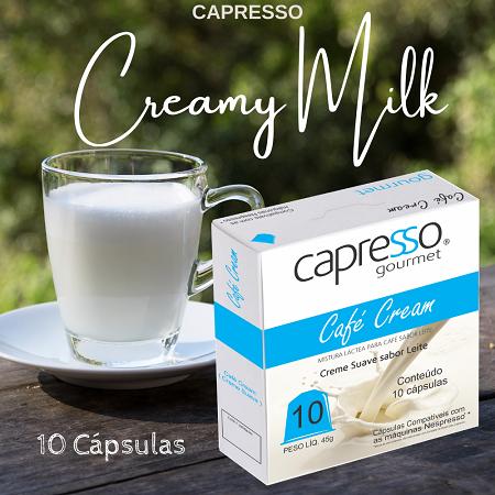 Cápsula Café Cream 10 Unidades