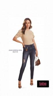Calça Super Skinny Jeans Morena Rosa