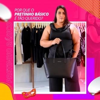 Macacão Pantalona Preto - Morena Rosa